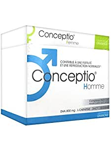 Pack Conceptio homme et femme pour contribuer à améliorer la fertilité