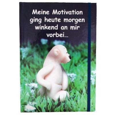 Preisvergleich Produktbild Tatzino Notizbuch Motivation - DIN A5