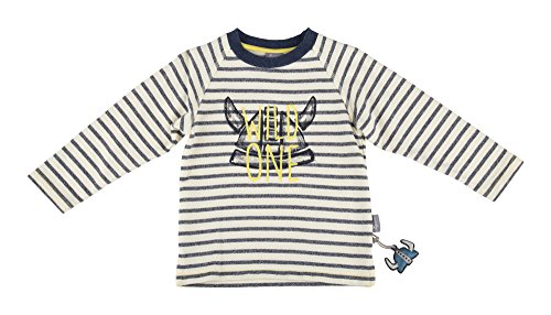 Sigikid Jungen, Mini Sweatshirt, Weiß (Egret 77), 104 Mini Herren Sweatshirt