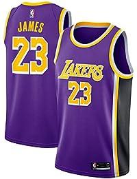 ac28160ed Zhao Xuan Trade Los Angeles Lakers Lebron James Baloncesto Masculino Cosido  Transpirable   23 Sport Swingman