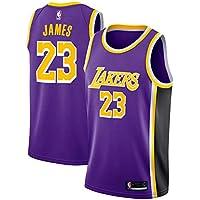 Zhao Xuan Trade Maglia da Basket di Los Angeles Lakers Lebron James Uomo  Cucita in Mesh b89f8b9a895a