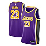 Zhao Xuan Trade Los Angeles Lakers Lebron James Männer Basketball Jersey genäht atmungsaktiv # 23 Sport Swingman Jersey Kleidung