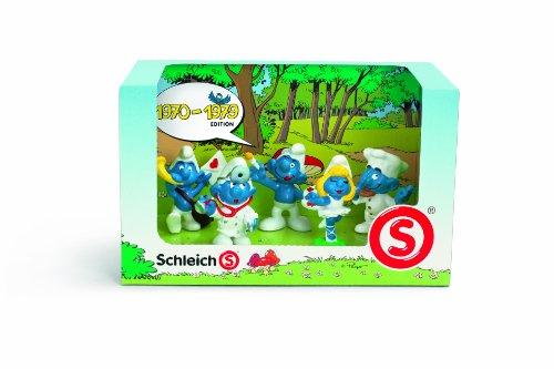 SCHLEICH 41256 - Schlumpf Set 1970 - 1979 (Schleich-schlumpf-set)