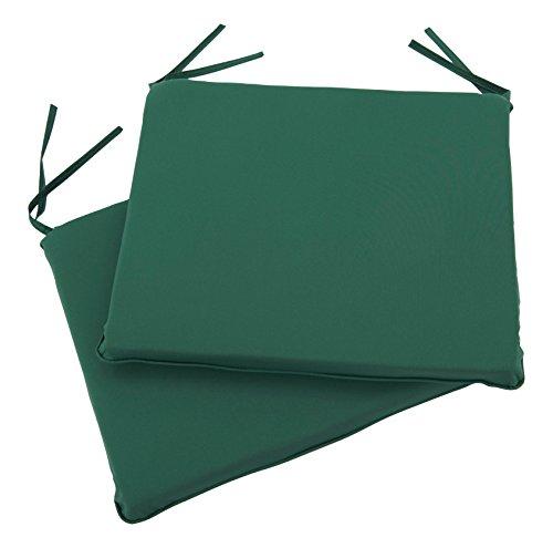 Forest Green Outdoor-stuhl (Greenhurst 4135Arm stuhl Kissen, Forest Green (2Stück))