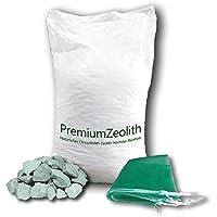 baumgrün 25 kg ZEOLITH 16-32 mm +2 Filtersäcke Filtermaterial Teichfilter Aquarium Filtermedium Filter Phosphatbinder Zeoliet Celolit Zelolit Zeolite Naturmineral