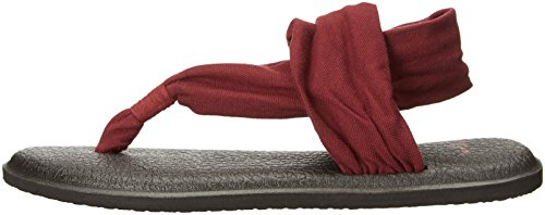 Sanuk Yoga Sling 2 Women Sandals Prints Burgundy Bur