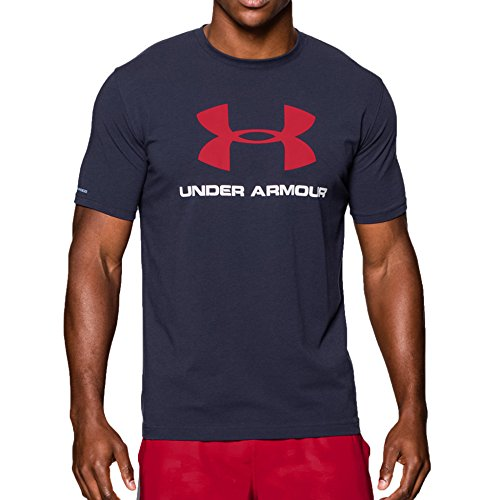 under-armour-2017-mens-charged-sportstyle-logo-t-shirt-midnight-navy-l