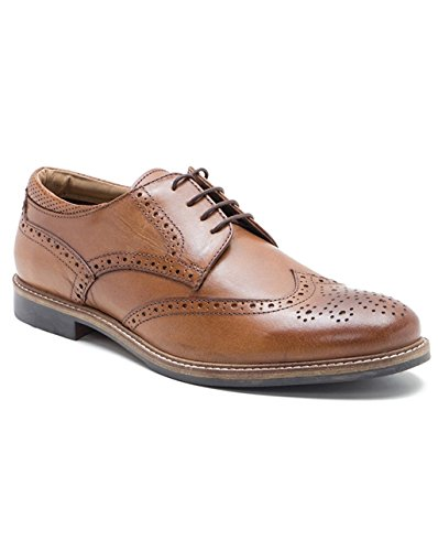 Chaussures en cuir pour homme Red Tape, Backford richelieu - Style classique - Chaussures à lacets peau
