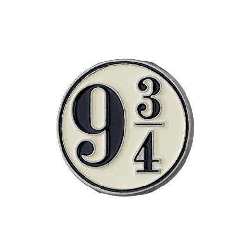 Harry Potter Pin Gleis 9 3/4 Logo Ø1,7cm Schmuck (Pin-album)