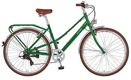 """Prophete Unisex– Erwachsene GENIESSER Retro City Bike 28\"""" Cityfahrrad Uni grün RH 48 cm"""