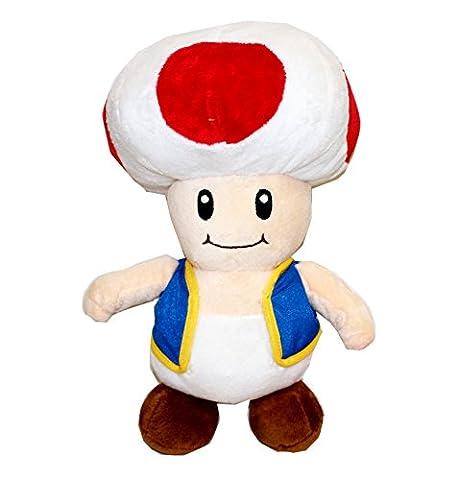 Super Mario Toad Plüschfigur 30cm