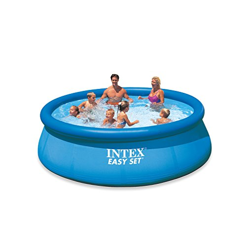 INTEX Easy Set Pool Set, Ø 366 x 76 cm, mit Pumpe, Blau