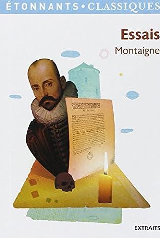 Montaigne Essais Livre 1 - Essais