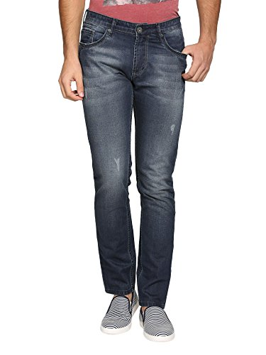 abof Men Blue Slim Fit Jeans  available at amazon for Rs.477