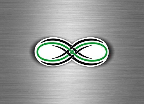 Aufkleber Sticker Auto Motorrad Zeichen unendlich MacBook Tuning Infinity Symbol RC (Rc Airsoft Auto)