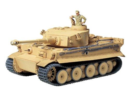 Tamiya 300035227 - 1:35 WWII Tiger I Initial/Frühe Produktion, Miniaturfahrzeuge (Tiger 1 Tamiya 35)