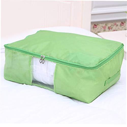 Camellia Oxford Tuch abwaschbar Haushalt täglich Familie Produkte grün Große Quilt Tasche Frucht vertraut Artikel des täglichen Gebrauchs (Grün) (Quilt Tasche)
