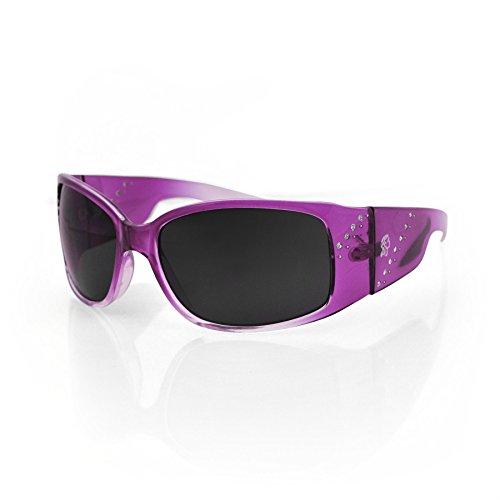 Zanheadgear Boise Sunglass (Crystal Purple Frame/Smoked Lens)