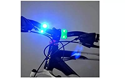 2Pcs Silicone Bike Bicycle LED Flash Frog Head Light Lamp£¨Random Color)