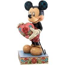 Disney Tradition 4026084 Topolino Resina, Design di Jim Shore, 12 cm