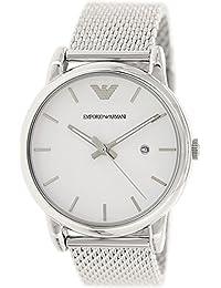 Emporio Armani AR1812 Hombre Plata Relojes de pulsera Nuevo