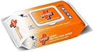 Savlon Germ Protection Wet Wipes - 72 Wipes | Multi Purpose | Fights Germs on Hands, Body and Surfaces | Easy