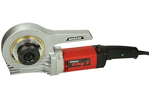 Roller 850301 Gewindeschneider/Elektro-Gewindeschneidkluppe für Rohrgewinde ROLLER'S King 2 Set C | für Reparatur, Renovierung und Baustelle, mit 30% Leistungssteigerung | 230 V, 50-60 Hz, 1200 W