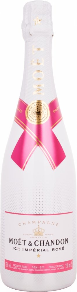 Moet et Chandon Ice Imperial Non Vintage Rose Champagne, 75 cl
