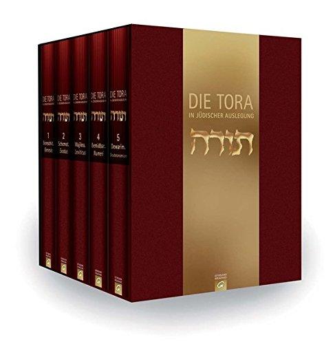 Die Tora. In jüdischer Auslegung.: Band I-V. Sonderausgabe