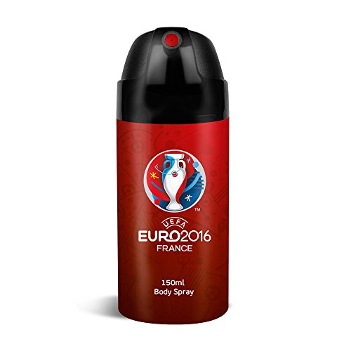 UEFA Euro 2016 Déodorant Spray Rouge 150 ml