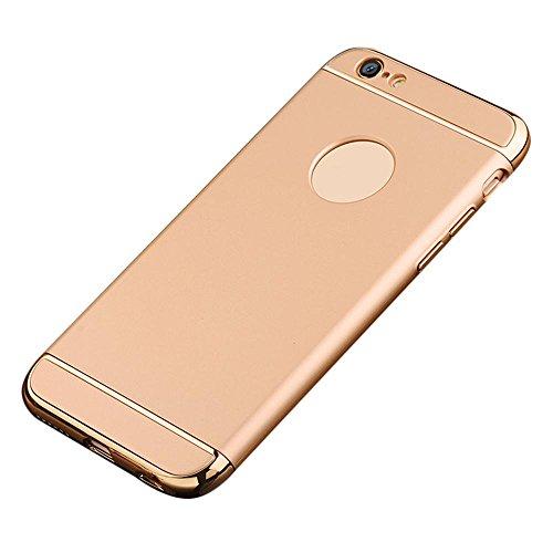Galleria fotografica Kobwa iPhone 6s Plus/6 Plus Guscio, 3 In 1 Duro Ultra Sottile Anti-graffio Antiurto Placca La Pagina Con Superficie Rivestita Cassa Della Presa Eccellente Per Apple iPhone 6s Plus/6 Plus