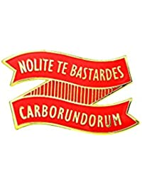 Gudeke Margaret Atwood Nolite Te Bastardes Carborundorum Pin Broche Handmaids Tale