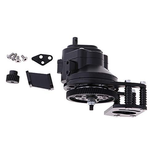 Homyl Boîtier de Transmission Boîte de Vitesse Centrale W Motor Gear pour 1/10 Voitures Gelande II D90 RC