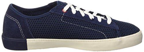 Timberland Newport Bay_newport Bay Suede&mesh Pl, Baskets Basses homme Bleu - Blau (Navy/Black Iris)