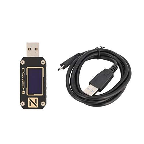 FCGV Power-Z USB-Pd-Tester Km001 Professionelles Digital-Voltmeter-Amperemeter Volt Mete-Black