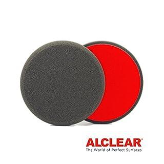 ALCLEAR 5513530F Finishpad gegen Hologramme, Durchmesser : 135 x 25 mm, anthrazit,2er Set