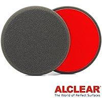 ALCLEAR Set di 2 dischetti di finitura anti ologrammi per un sistema disco Ø 135x25 mm, antracite - ukpricecomparsion.eu