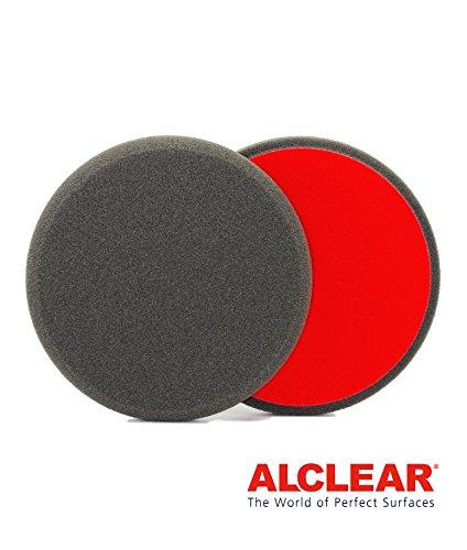 ALCLEAR 5513530F Finishpad gegen Hologramme, Durchmesser : 135 x 25 mm, anthrazit ,2er Set