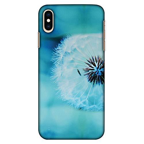 Amzer Hartschalen-Schutzhülle für Apple iPhone XS Max (ultradünn, dünn, Motiv: Pusteblume in der Nähe von HD Farbe)