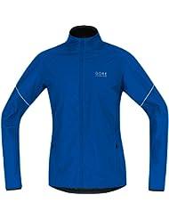 GORE RUNNING WEAR Herren Warme Laufjacke, Leicht, GORE WINDSTOPPER, ESSENTIAL WS AS Partial Jacket, JWESNO