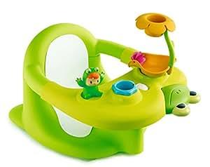 smoby 211106 jouet de bain cotoons siege de bain vert. Black Bedroom Furniture Sets. Home Design Ideas