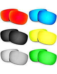 Hkuco Plus Mens Replacement Lenses For Oakley Style Switch - 6 pair