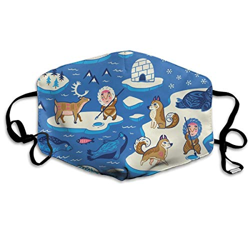 North Pole Anti Dust Mask Anti Pollution Washable Reusable Mouth Masks
