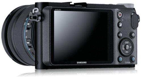 Samsung NX200 Systemkamera (20,3 Megapixel, 7,6 cm (3 Zoll) Display, i-Funktion) inkl. 18-55mm NX Objektiv - 6