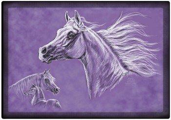 Unterlage mit Pferdemotiv Twilight Araber Hengst 23047 Kollektion Bötzel