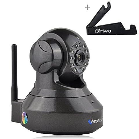Vstarcam C7837WIP IP Caméra 720P HD Webcam Sécurité de Surveillance Caméra Intérieur WiFi sans Fil Caméra IR-Cut Support TF Carte APP Android / iPhone / iPad /