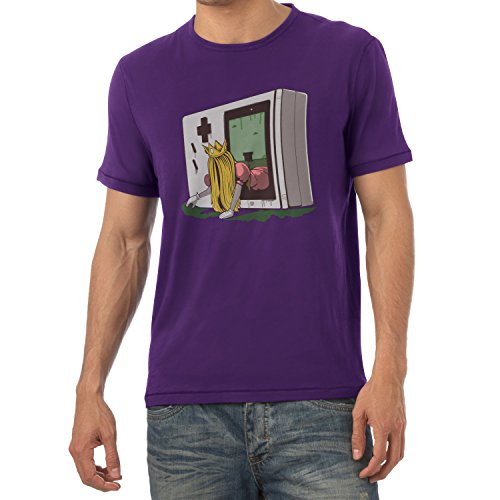TEXLAB - The Princess - Herren T-Shirt Violett