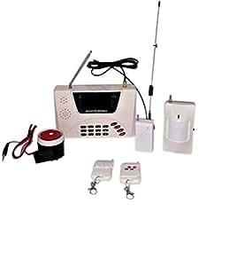 Kit allarme antifurto gsm casa ufficio negozio wireless - Allarme casa senza fili fai da te ...