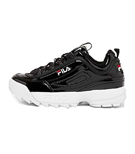 5c76974bb3767 Fila Sneakers Donna Scarpe Ginnastica Sport Disruptor m Low Woman Colore  Nero Black 1010441 25Y