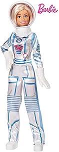 Barbie Quiero Ser Astronauta, muñeca 60 aniversario con accesorios (Mattel GFX24)